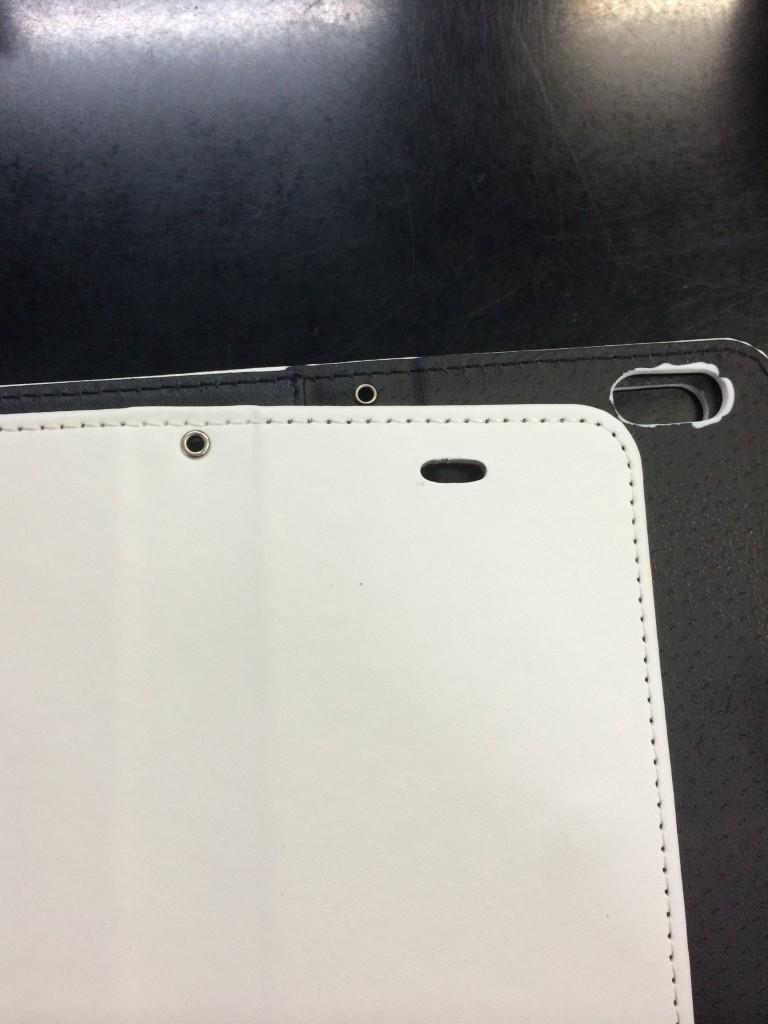 手帳型鏡付きiPhone6ケース